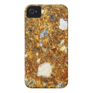 Capas Para iPhone 4 Case-Mate Seção fina de um tijolo sob o microscópio
