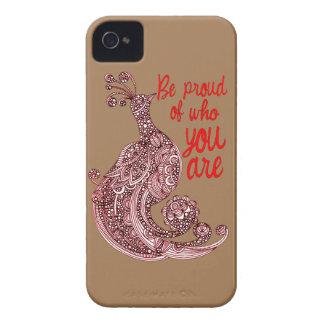 Capas Para iPhone 4 Case-Mate Seja orgulhoso de quem você é