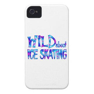 Capas Para iPhone 4 Case-Mate Selvagem sobre o patinagem no gelo