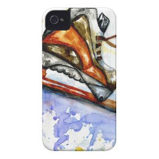 Capas Para iPhone 4 Case-Mate Skate de gelo da aguarela