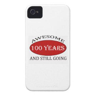 CAPAS PARA iPhone 4 Case-Mate  TENDENDO 100 ANOS DE DESIGN VELHO DO ANIVERSÁRIO