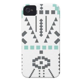 Capas Para iPhone 4 Case-Mate Totem de Boho, símbolo étnico, Hippie, asteca,