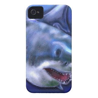 Capas Para iPhone 4 Case-Mate Tubarão