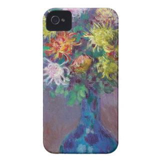 Capas Para iPhone 4 Case-Mate Vaso dos crisântemos Claude Monet