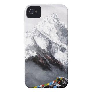 Capas Para iPhone 4 Case-Mate Vista panorâmica da montanha de Everest