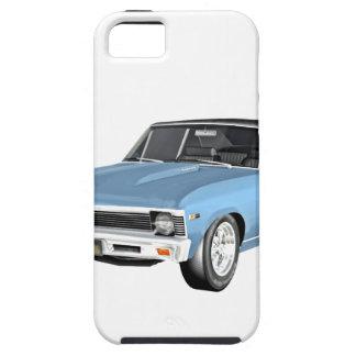 Capas Para iPhone 5 1968 claro - carros azuis do músculo