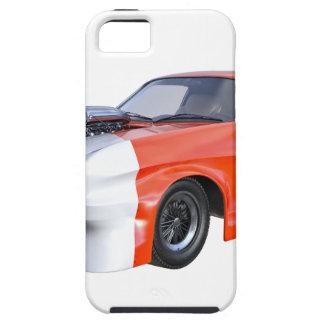 Capas Para iPhone 5 2016 carro alaranjado e branco do músculo