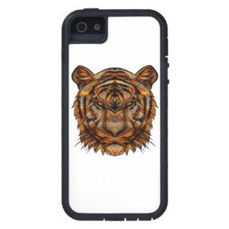 Capas Para iPhone 5 A cabeça 1a do tigre