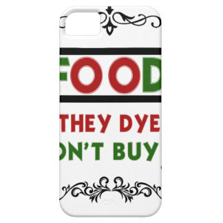 Capas Para iPhone 5 a comida da tintura come a camisa do presente t