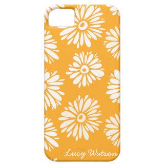Capas Para iPhone 5 A laranja floresce a caixa do iPhone 5