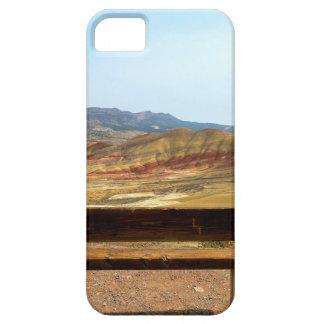 Capas Para iPhone 5 A opinião do banco em colinas pintadas negligencia