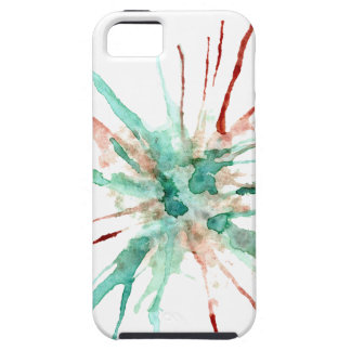 Capas Para iPhone 5 A pintura do Grunge Splatters o verde