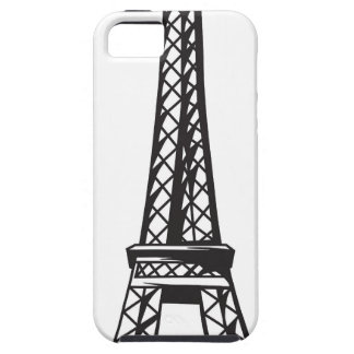 Capas Para iPhone 5 A torre Eiffel (viva)