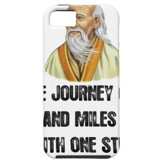 Capas Para iPhone 5 a viagem de mil milhas começa com um canto