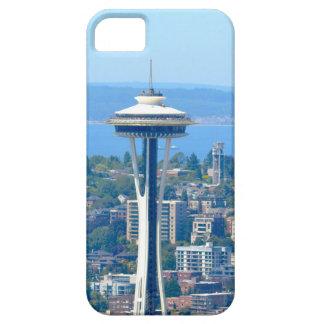 Capas Para iPhone 5 Agulha do espaço da skyline de Seattle