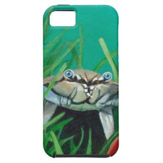 Capas Para iPhone 5 Ahoy encontra o caranguejo inferior do mar da água