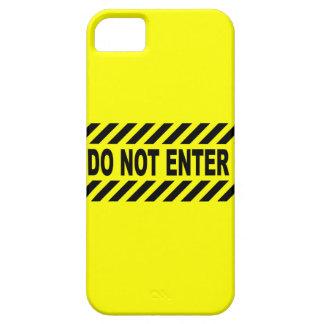 Capas Para iPhone 5 Amarelo e preto não incorpore o sinal