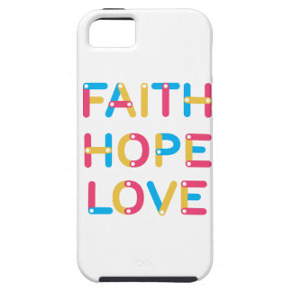 Capas Para iPhone 5 amor 2 da esperança da fé
