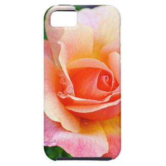 Capas Para iPhone 5 Aperfeiçoe cor-de-rosa na flor