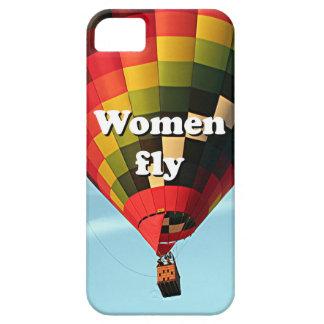 Capas Para iPhone 5 As mulheres voam: balão de ar quente