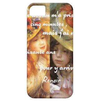 Capas Para iPhone 5 As pinturas de Renoir são abundância do amor