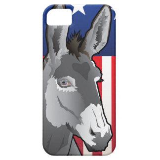 Capas Para iPhone 5 Asno dos EUA, orgulho de Democrata