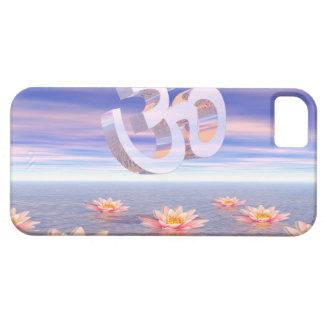 Capas Para iPhone 5 Aum - OM em cima dos waterlilies - 3D rende