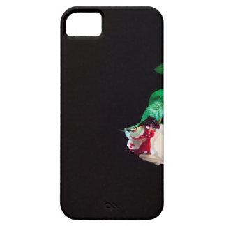Capas Para iPhone 5 Aumentou o lado branco do vermelho do sangue