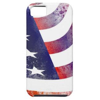 Capas Para iPhone 5 Bandeira americana do Grunge