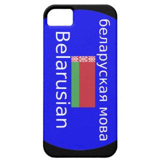 Capas Para iPhone 5 Bandeira de Belarus e design da língua