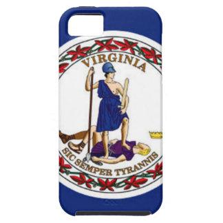 Capas Para iPhone 5 Bandeira de Virgínia