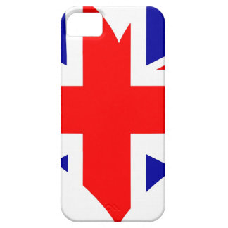Capas Para iPhone 5 Bandeira do coração de Union Jack