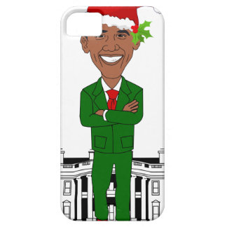 Capas Para iPhone 5 Barack Obama Papai Noel
