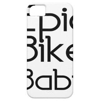 Capas Para iPhone 5 Bebê épico da bicicleta