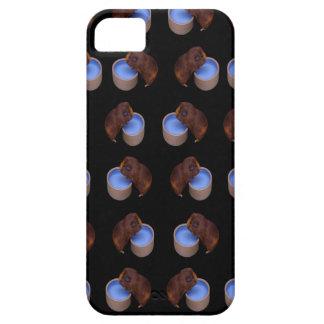 Capas Para iPhone 5 Bebendo ereto da cobaia,