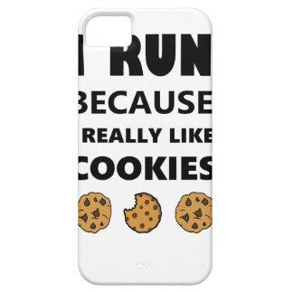 Capas Para iPhone 5 Biscoitos para a saúde, corredor do funcionamento