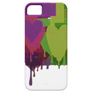 Capas Para iPhone 5 Blocos da cor que derretem corações