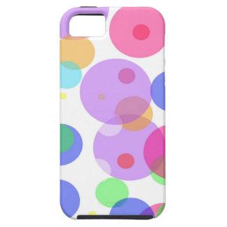 Capas Para iPhone 5 Bolhas coloridas