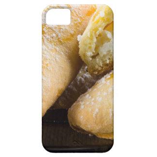 Capas Para iPhone 5 Bolos quentes com enchimento do queijo