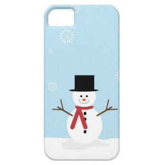 Capas Para iPhone 5 Boneco de neve do Natal