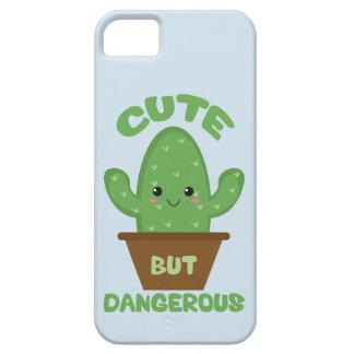 Capas Para iPhone 5 - Cacto de Kawaii - engraçado bonito mas perigoso