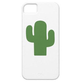Capas Para iPhone 5 Cacto verde feliz no verão cor-de-rosa