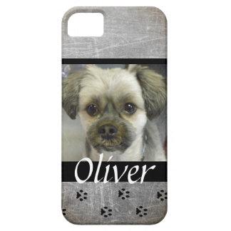 Capas Para iPhone 5 Caixa personalizada do telemóvel do cão foto