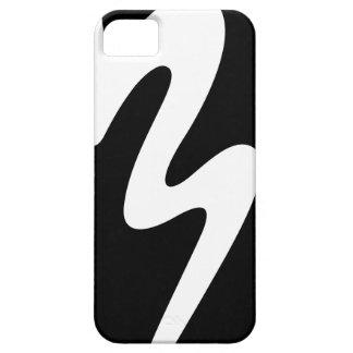 Capas Para iPhone 5 Caixa preta do telemóvel do logotipo - banda da