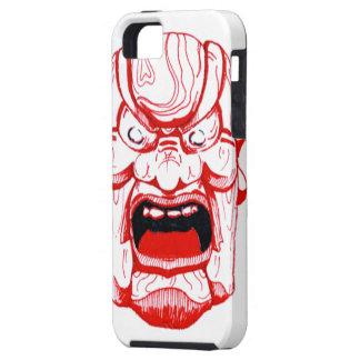 Capas Para iPhone 5 Caixa vermelha do iPhone 5 da máscara
