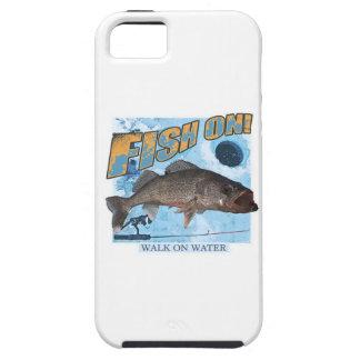 Capas Para iPhone 5 Caminhada em walleye da água