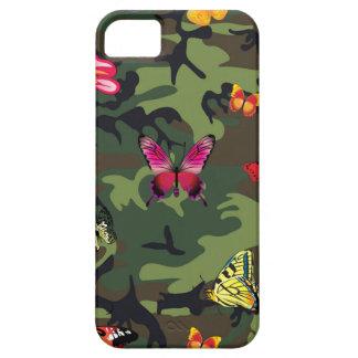 Capas Para iPhone 5 camuflagem da borboleta