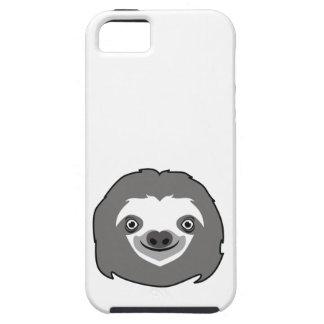 Capas Para iPhone 5 Cara da preguiça