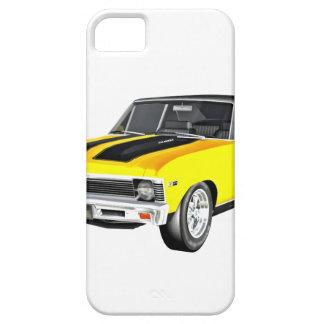 Capas Para iPhone 5 Carro amarelo do músculo 1968
