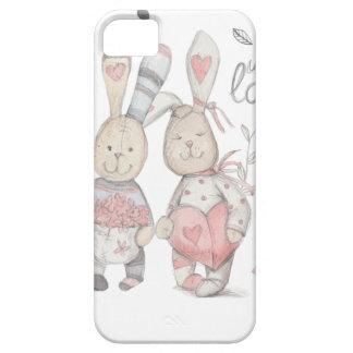 Capas Para iPhone 5 casal banny 2 do coelho